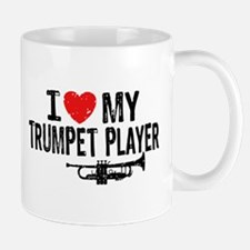 I love My Trumpet Player Mug