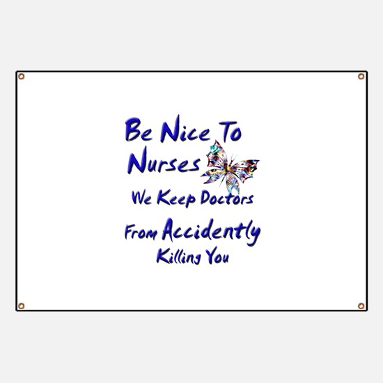 Funny Male doctor Banner