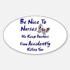Cute Nurse Decal