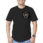 Oi! Booted Crest Men's Fitted T-Shirt OiSKINBLU