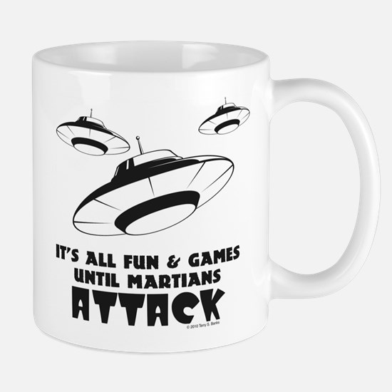 Martians Attack Mug
