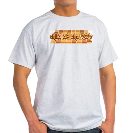 Child of the 70's Ash Grey T-Shirt