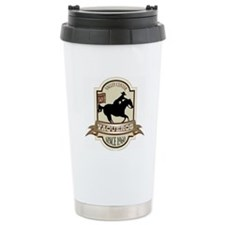 Cute Fat bastards riders club logo Travel Mug