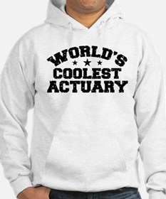 World's Coolest Actuary Hoodie