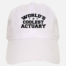 World's Coolest Actuary Baseball Baseball Cap