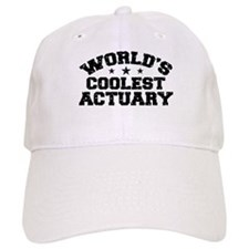 World's Coolest Actuary Baseball Cap