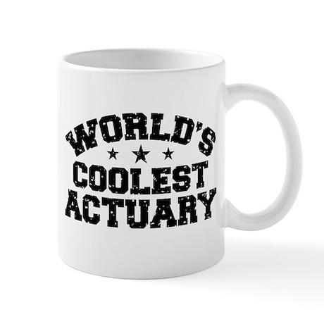 World's Coolest Actuary Mug