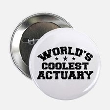 "World's Coolest Actuary 2.25"" Button"