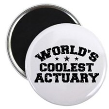 World's Coolest Actuary Magnet