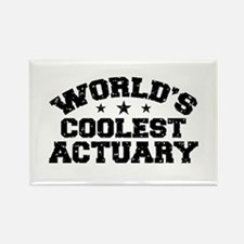 World's Coolest Actuary Rectangle Magnet