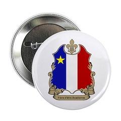"""""""Fiere"""" Acadienne Button"""