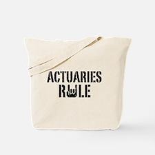 Actuaries Rule Tote Bag