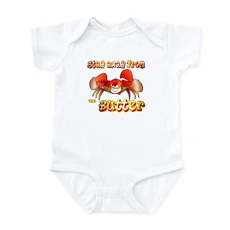 Crabs don't like BUTTER Infant Bodysuit