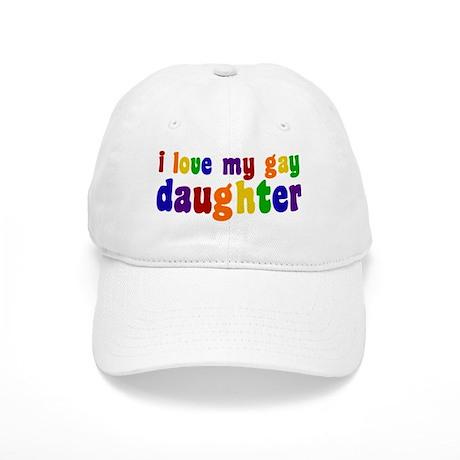 I Love My Gay Daughter Cap