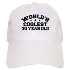 World's Coolest 30 Year Old Baseball Cap