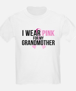 I Wear Pink for My Grandmothe T-Shirt