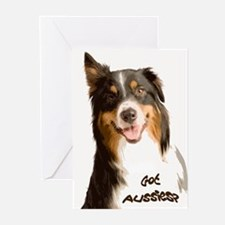 Got Aussies? Greeting Cards (Pk of 10)