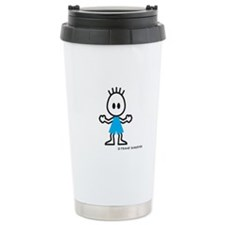 Boy Standing Travel Mug