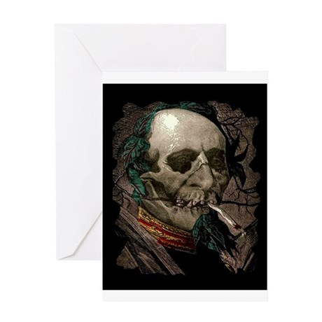 Stoned Zombie Greeting Card