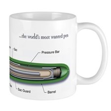 "Parker ""51"" Anatomy Coffee Mug"