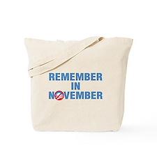 Remember In November Tote Bag