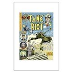 Jeremy Couturier's Tank Riot Comic, Large Poster