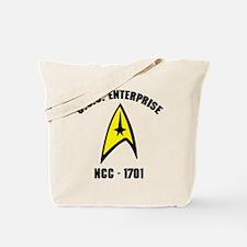 USS Enterprise NCC-1701 Tote Bag