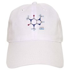 The Caffeine Molecule Baseball Cap