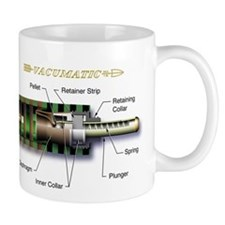 Parker Vacumatic Anatomy Coffee Mug