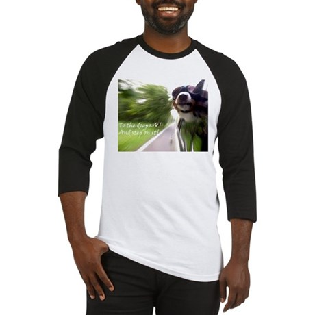 To the Dogpark! Baseball Jersey