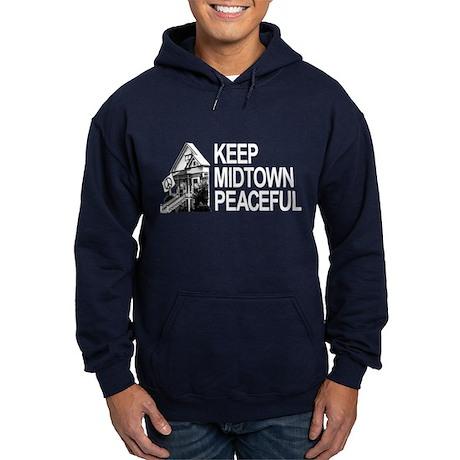Keep Midtown Peaceful Hoodie (dark)