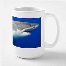 Shark Diver Large Mug