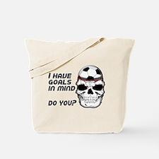 Goals in Mind Tote Bag