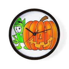 Mr. Deal - Halloween Pumpkin Wall Clock