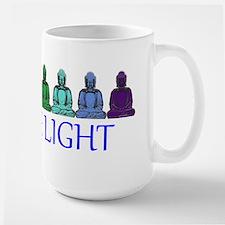 Buddha Rainbow Large Mug