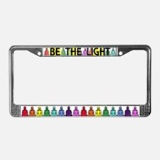 Buddha Rainbow License Plate Frame