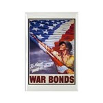 Have & Hold American Flag Rectangle Magnet