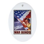 Have & Hold American Flag Oval Ornament