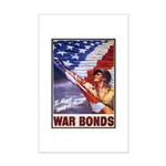 Have & Hold American Flag Mini Poster Print