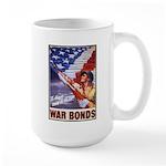 Have & Hold American Flag Large Mug