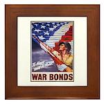 Have & Hold American Flag Framed Tile