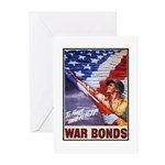 Have & Hold American Flag Greeting Cards (Package