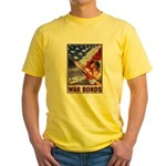 Have & Hold American Flag Yellow T-Shirt