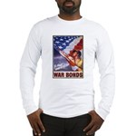 Have & Hold American Flag (Front) Long Sleeve T-Sh