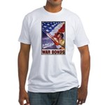 Have & Hold American Flag (Front) Fitted T-Shirt