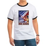 Have & Hold American Flag (Front) Ringer T