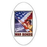 Have & Hold American Flag Oval Sticker