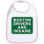 Boston Drivers Are Insane Bib