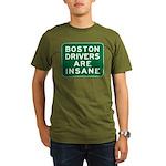 Boston Drivers Are Insane Organic Men's T-Shirt (d