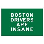 Boston Drivers Are Insane Large Poster